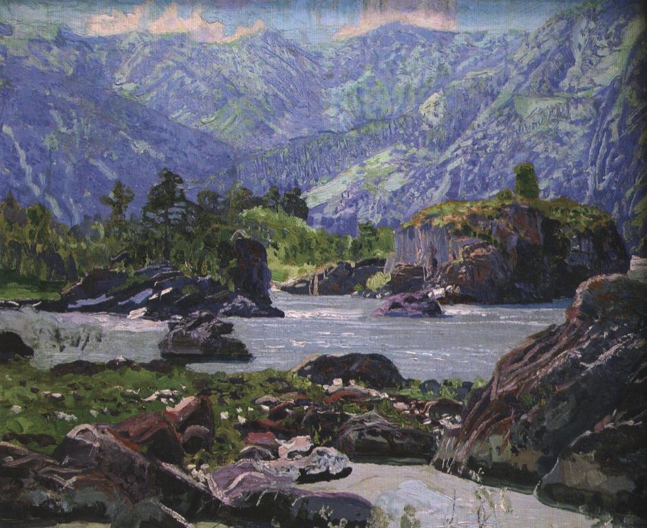 Катунь. Начало 1910-х гг.