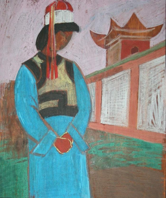 Пастушкова Л. Н. Тонгулак. Из серии: Монгольские зарисовки