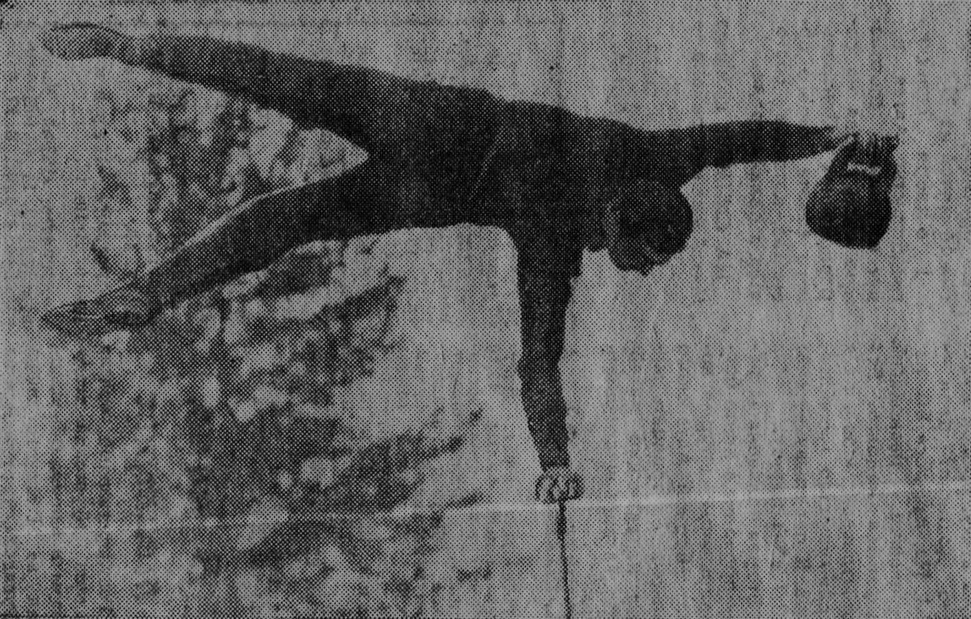 Выступление Г. Попова на фестивале советско-монгольской молодежи (Манжерок, 1966 г.)